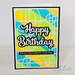 Happy Birthday Card, May All Your Dreams Come True, Teen Card