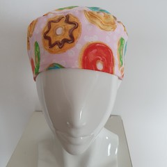Hat adult-donut with pale pink