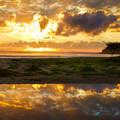 Arrawarra Sunrise - 10x8 inches, Fine Art Giclée Print - Free Shipping!
