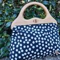 Black spot handbag