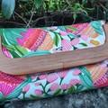 Colourful Protea handbag