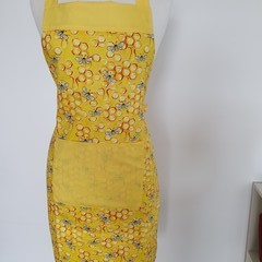 Apron adult-bees & bright yellow