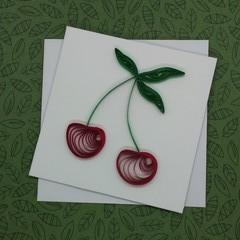 Mini Card Cherries