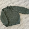 CLEARANCE 40% off - Green Fleck Jumper - Size 0-3 month