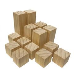Wooden Blocks - Medium Set (14 Pieces)