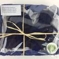 Newborn Baby Gift Set   Beanie / Hat   Pair Booties   Hand Knitted   Navy Blue