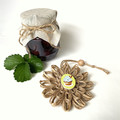 Gift Boxed Bloom Rustic Decoration Keepsake Flower Cupcake Button