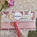 """""""Best Wishes"""" -Gift card Envelope #1"""