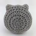 Crochet Owl Softie | Soft Toy | Gift Idea | Hand Crocheted | Wool Bamboo | Pink