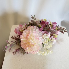 Birthday Cake Topper Pretty Pink Flowers