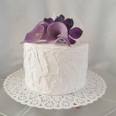 Small Cake Topper Calla Lily
