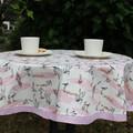 Round tablecloth - Wetlands print