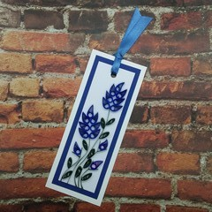 Quilled Bookmark Bluebells