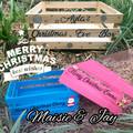 Custom Made Christmas Eve Boxes