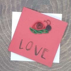 Mini Card LadyBug