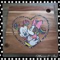 Minnie & Mickey Serving Board