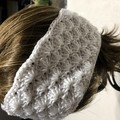 Hand crocheted  headbands / ear warmers