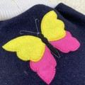 Medium Butterfly Wool Nappy Cover