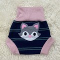 Large Kitten Wool Nappy Cover