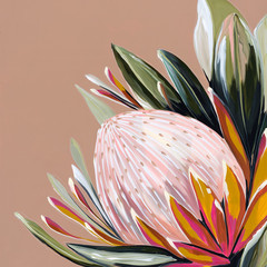 She's The One Protea Print