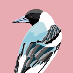 Magpie Print