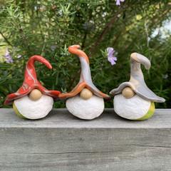 Gnome trio - Sockit, Tango & Ulrich