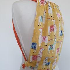 Drawstring backpack - medium