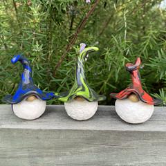 Gnome trio - Virgil, Wilbur & Xyon