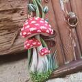 Mushroom Forest Fairy Door