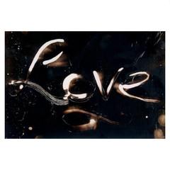 Love Art Print 5 x 7 inches, Chemigram Photographic Art