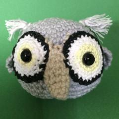 'Grey Owl' Ball Toy