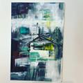 """""""TROPICAL VISION"""" Original Abstract Art"""