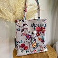 Floral Tote Bag (Fully Lined)