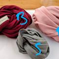 100% Merino SINGLE headband, neck sock, ear warmer