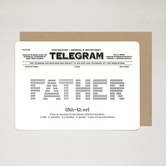 Dad Card, Father Card, Happy Birthday Dad Card, TELEGRAM A6 Postcard