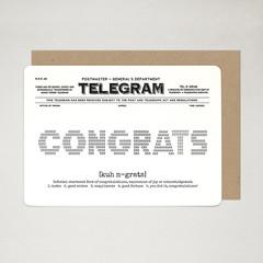 Congratulations Card, Congrats Card, Graduation Card, Celebration Card, TELEGRAM