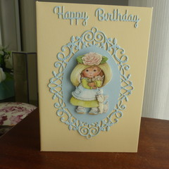 FEMALE BIRTHDAY CARD   ( Postage Included)