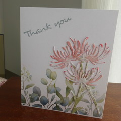 THANK YOU CARD  (POSTAGE INCLUDED)