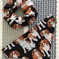 READY MADE Dog Pet Bandana Size S - XL Over collar design Bandanas