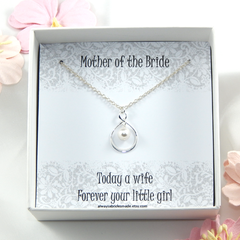 Mother of the Bride Necklace Gift,Mother Of The Bride Necklace