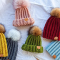 BOTTLEBRUSH BEANIE - Toddler (fits 1 to 5 year old) - Various Colours