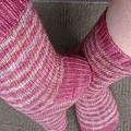 Sock pattern - stripes