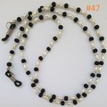 Fashion Eyeglasses/Sunglasses Holder Cord Chain Strap with Rubber Loop Ends #047