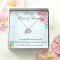 Maid of Honour Gift Necklace,Matron of Honour Gift