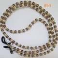 Fashion Eyeglasses/Sunglasses Holder Cord Chain Strap with Rubber Loop Ends #053