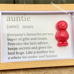 Auntie Jelly Baby Definition frame