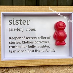Sister Jelly Baby Definition frame