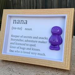 Nan Jelly Baby Definition frame