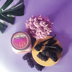 Organic Body butter | Black Raspberry & Vanilla