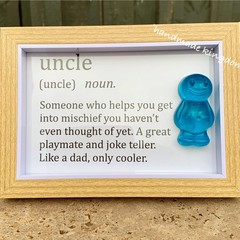 Uncle Jelly Baby Definition frame
